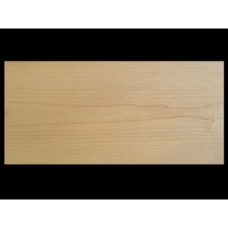 Veneer, maple nature, 0.5 mm thick