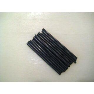 Seitenstäbchen, schwarz, 50x1,5 mm