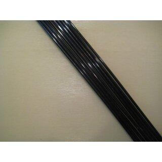 Seitenstäbchen, schwarz, 1000x2,0 mm