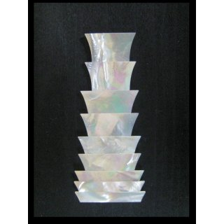 Crown inlays, sharp edges, 9-parts - 1.5 mm thick