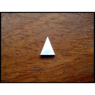 Pearl inlay, white mother of pearl,  ~ 5,3x3,8 mm