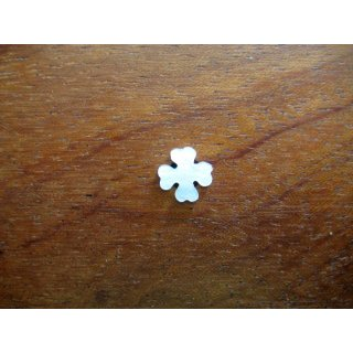 Pearl inlay, white mother of pearl,  ~ 8,1x8,1 mm