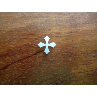 Pearl inlay, white mother of pearl,  ~ 11x11  mm