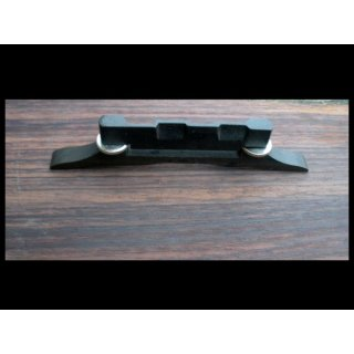 Mandolin bridge ebony