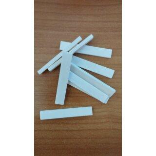 Bridge saddles, bone - 75x2,8x10 mm