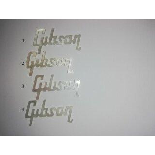 Gibson Logo, Makassar Perlmutter