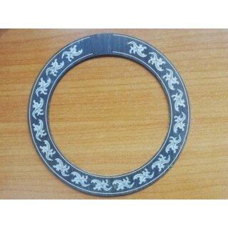 Sound hole ring, Ovation with imitation inlays
