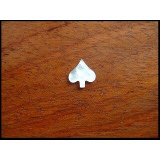 Perlmuttereinlage, Makassar ~  9,3x8,8 mm