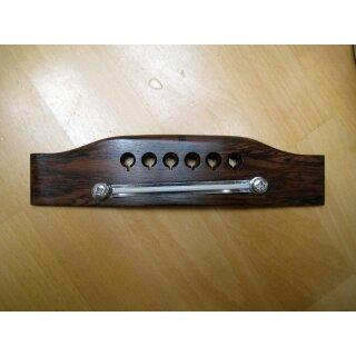 Gitarrensteg, Western 6-saitig, Palisander, verstellbarer Metallsattel