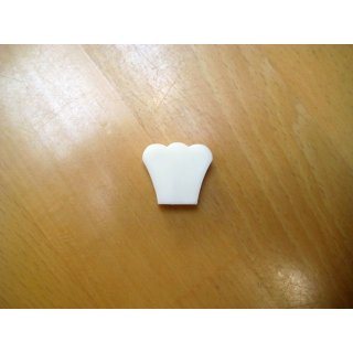 Mashine head button, plastic, guitare, round hole