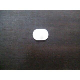 Mashine head button, guitar, small, oval, round hole