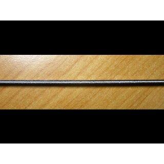 Celluloid - Binding,  3-teilig schwarz/weiss/schwarz 1470x6 mm