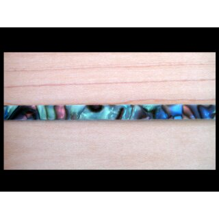Celluloid - Binding - perloid abalone green, 1630x6 mm