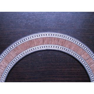 Sound hole ring, wooden marquetry - 1.0 mm thickness