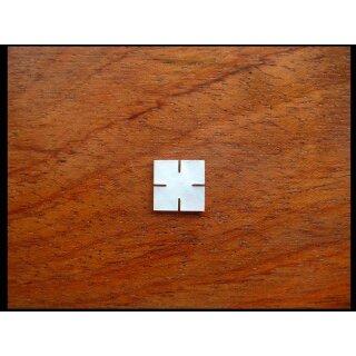 Quadrat mit Einschnitten